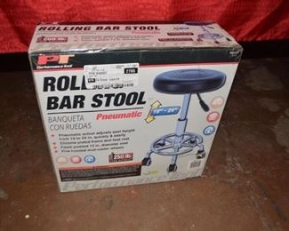 New Rolling Bar Stool
