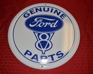 Tin Sign, Ford
