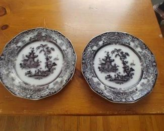 Pair of Mulberry plates  $50