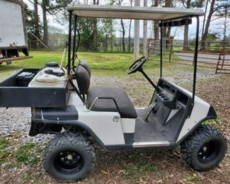 1990s  ,  EZGO golf cart 48 volt,  6 battery  set with original charger unit,,,, with upgrades,,,,$ 2200.