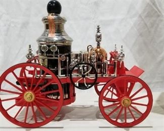 Fire Engine Beam Decanter