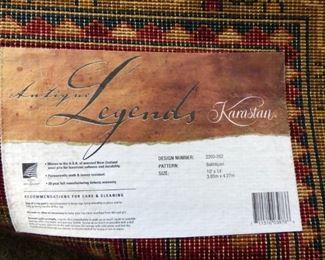"Was $850 NOW $425.00   Karastan Antique Legend, 100% Wool 10 x 14 ""Bakhtiyari"" Rug. (Compare At $5000 New)"