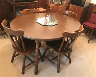 Table / 4 Chairs  $ 174.00