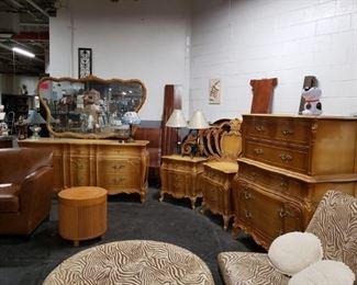 Vintage Union 6 PC Bedroom set