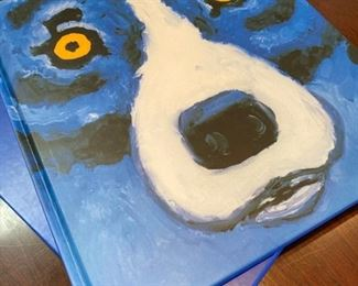 Blue Dog book, signed by Rodrigue: $85