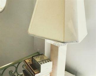 Lucite Lamp $50
