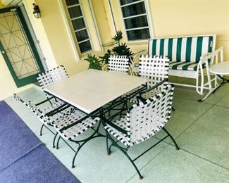REDUCED $350                                                                                       8 Piece Outdoor Set - Asking price $500