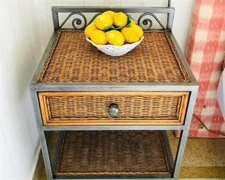 REDUCED 50% OFF Pair side tables $140