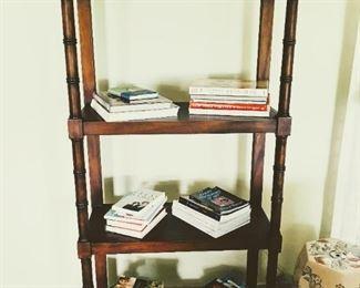 Wood Bookshelf $350