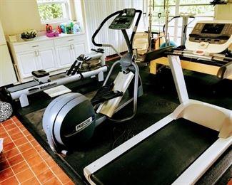 Precor USA Treadmill $750 Precor Rear Drive Elipical Trainer $850 Water Rower $950