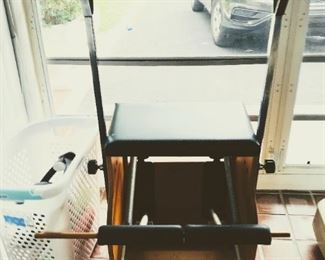 Reduced $300                                           Split Pedal Stability Chair - Asking price $550
