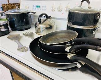 Lot of pots - $35