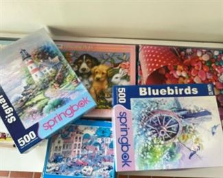 Lot of Puzzles $20