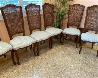 Highback Cane Chairs $25 Each