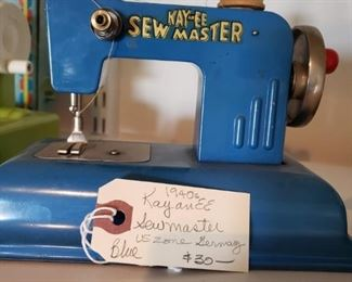 # 16 Kay an EE 1940s Sewmaster US Zone Germany Blue $30