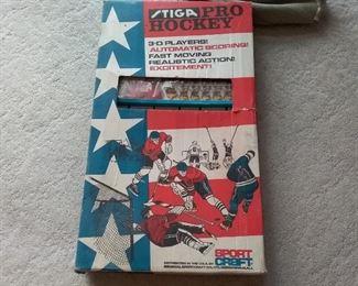 002 Stiga Pro Hockey Game Vintage