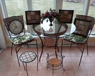 5Piece Patio Sunroom Set