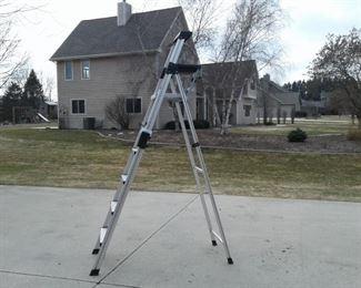 8 Foot Cosco Aluminum Step Ladder