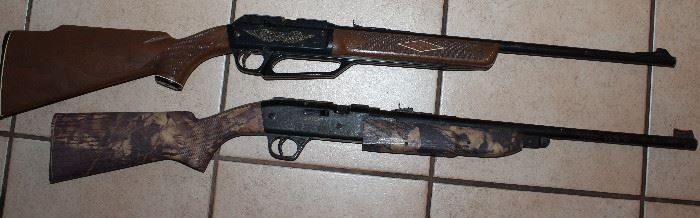 "Vintage Daisy Pellet Air Rifles: Model 922 Powerline   Model 840 ""Grizzly"" Mossy Oak Camo Pump Air Rifle"