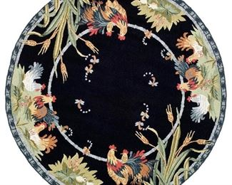 "Safavieh Chelsea ""Rooster"" 6"" Round Area Rug"