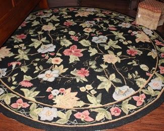 "Safavieh Chelsea Floral and Vine 8"" Round Area Rug"