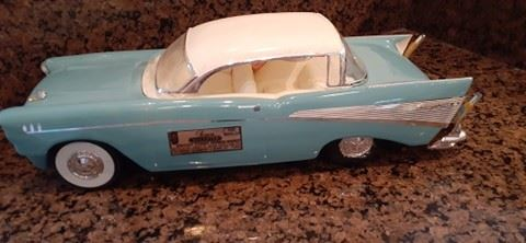 57 Chevy Bel Air Decanter $25