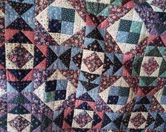 Handmade lap quilt. $50.00