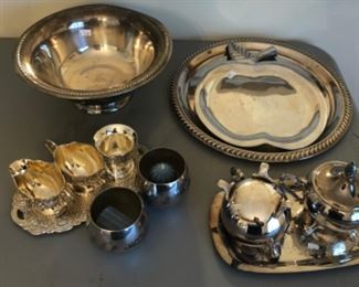 Dining Room #2 Silver Plate items  $15.00