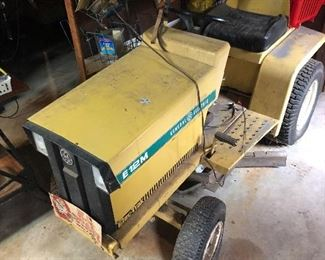 #11 Electric Riding Mower -$250