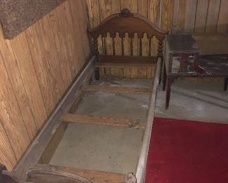 #18 Antique Twin Bed - $150