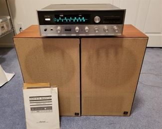 Sansui Stereo with JBL Speakers