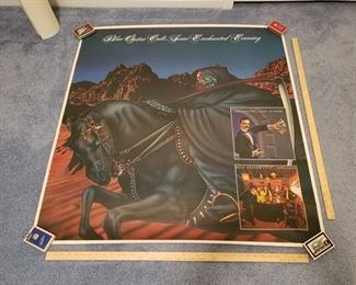 Large Blue Oyster Cult Promo Poster