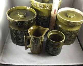 3Piece Totem Canisters  More by Portmeirion