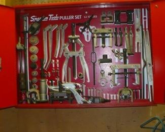 SNAP ON PULLER TOOL  SET AND CABINET