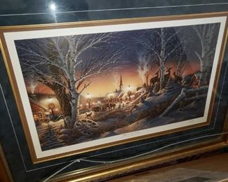 by Terry Redlin - Documentation on back