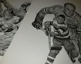 Sports Drawings - All