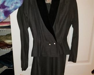 Some of the Vintage Women's Clothes - This Suit Size Small to medium.