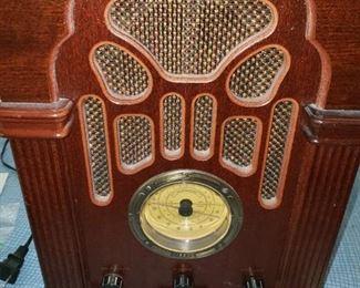 Vintage Style Radio - $35