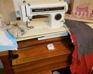 Kenmore in Cabinet Sewing Machine