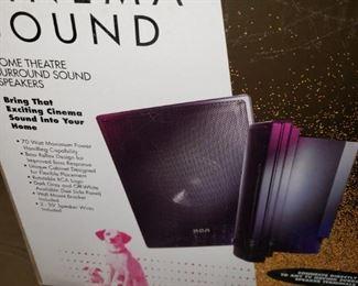 Cinema Sound - Home Theater - $50 - RCA