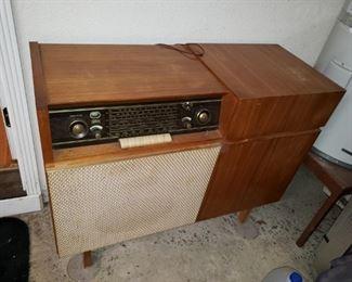 Braun/Telefunken - Mid-Century Modern Radio/Record Player. Great Look - $150.