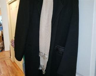 Wool Men's Coat from Hungary - It is beautiful - Size L