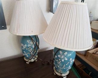 Ginger Jar Lamps -