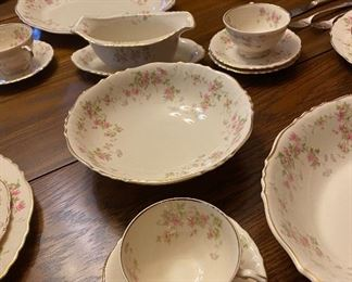 Stansbury Federal Shape Syracuse China this Set Not Sold Individually Sold as a Complete Set $320