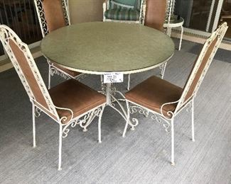 #1 PATIO TABLE AND CHAIRS $150