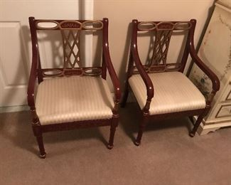 pair of outstanding chairs    300.00