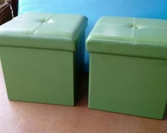 PRECIOUS STORAGE FOOTSTOOLS  ( TWO AVAILABLE )~ $35 EACH