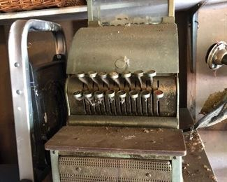 #10 Working Antique Brass Cash Register  $275.00