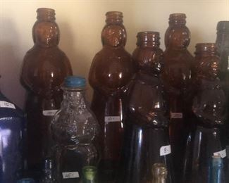 #26 Aunt Jemima vintage jars  Price ranges between $8.00 and  $15.00