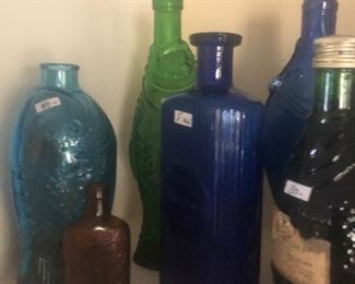 #28 Various antique and vintage bottles  Additional pictures  Prices vary